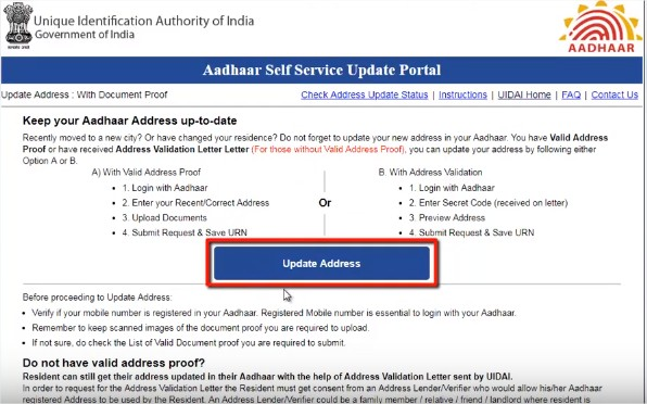 How-To-Change-Address-In-Aadhar-Card-Online-2019-Aadhar-Card